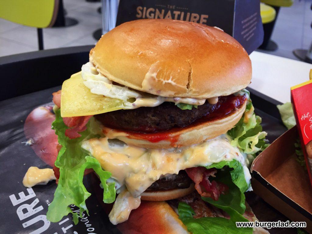 McDonald's Signature Mac
