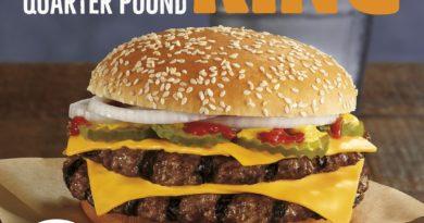 Burger King Double Quarter Pound King
