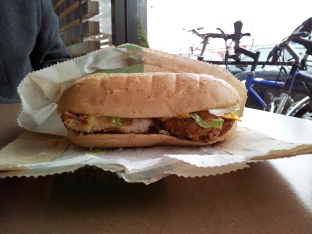 McDonald's Cajun Crispy Chicken Sandwich