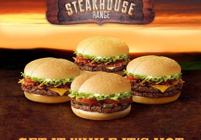 Burger King Hot & Spicy Steakhouse