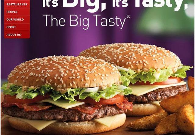 McDonald's Big Tasty