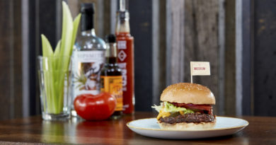 GBK Bloody Mary Burger Special