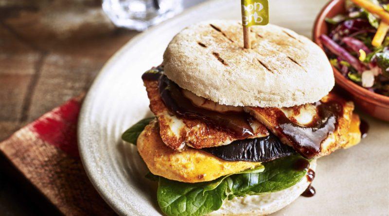 Nando's Trio Burger