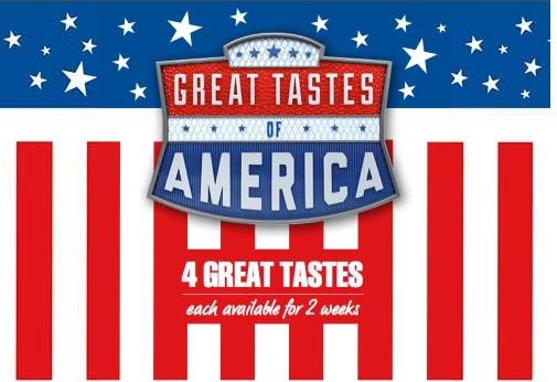 McDonald's Great Tastes of America 2017