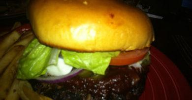 TGI Friday's Inferno Burger