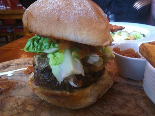 Loxley's Gourmet Rump Burger