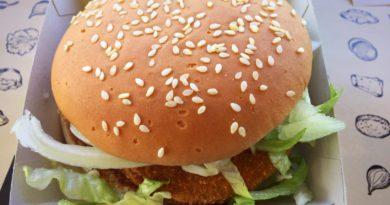 McDonald's Spicy Veggie Deluxe