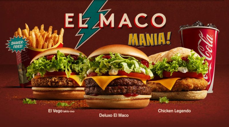 McDonald's Deluxo El Maco