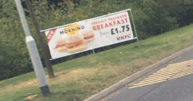 KFC Breakfast UK