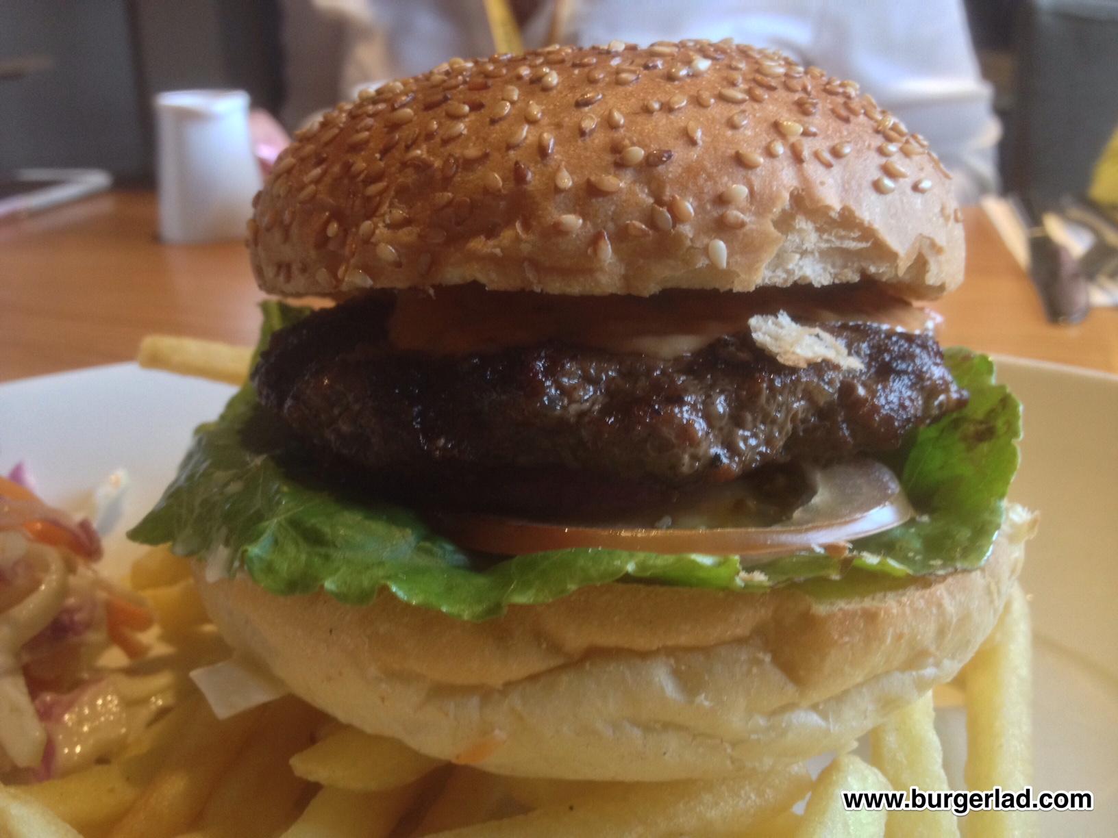 1/4lb Steak Burger