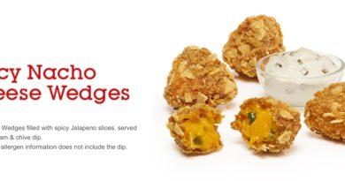 McDonald's Spicy Nacho Cheese Wedges