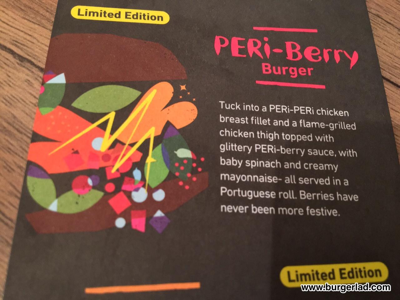 Nando's PERi-Berry Burger
