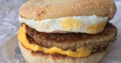 McDonald's Breakfast Menu