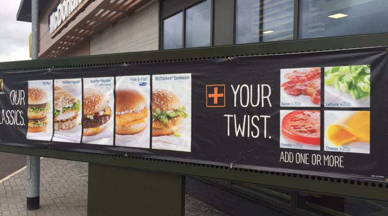 McDonald's Add Your Twist