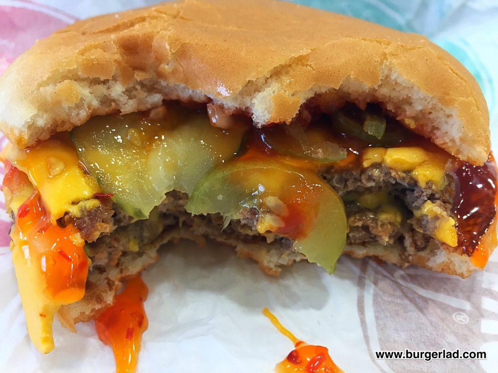 McDonald's Chilli Double Cheese