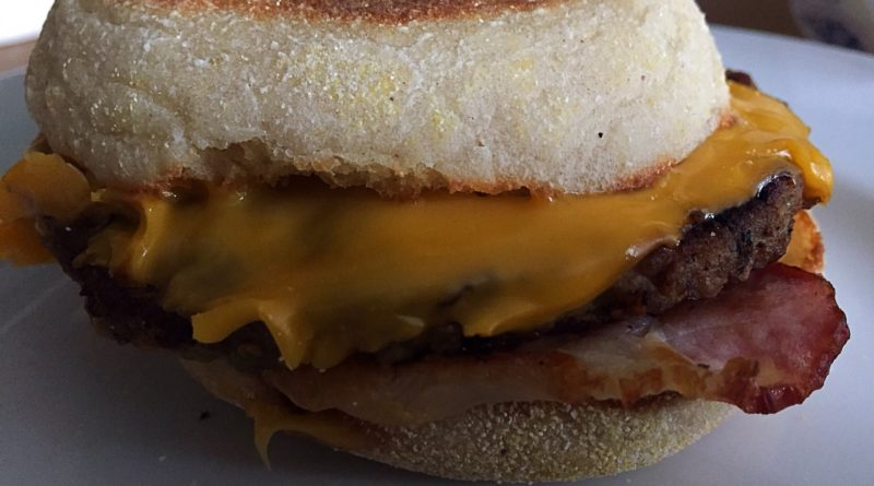 McDonald's Sausage & Bacon McMuffin