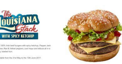 McDonald's Louisiana Stack