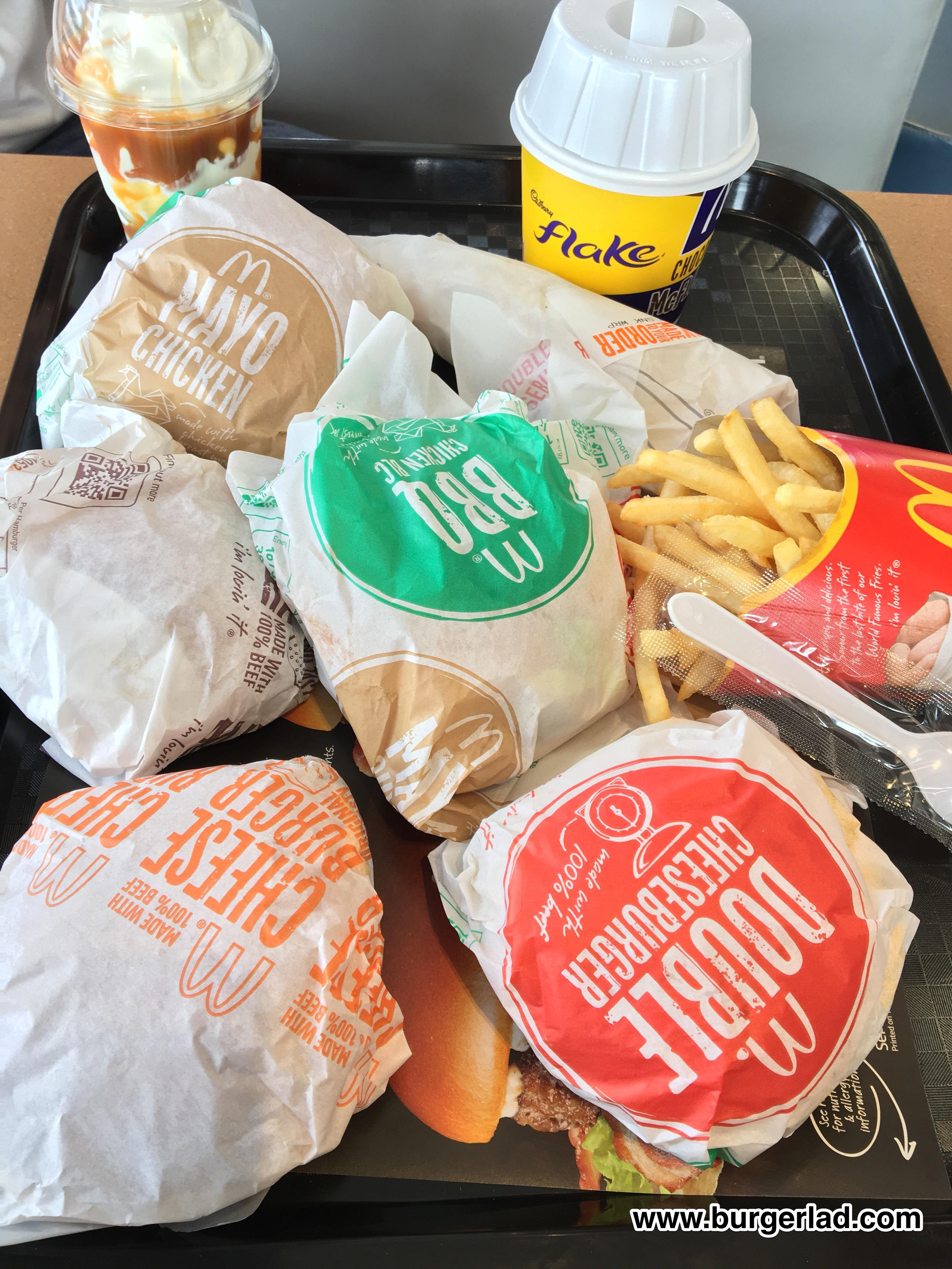 McDonald's Saver Menu