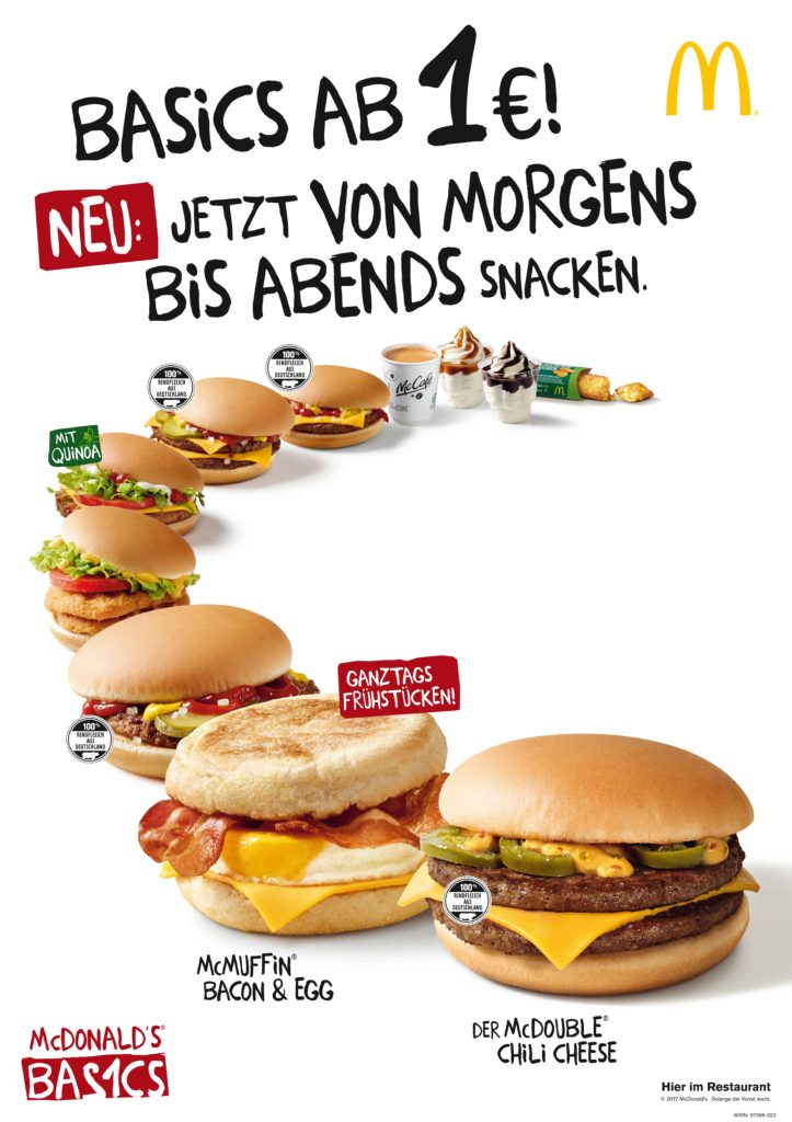 McDonald's Germany Signature Collection