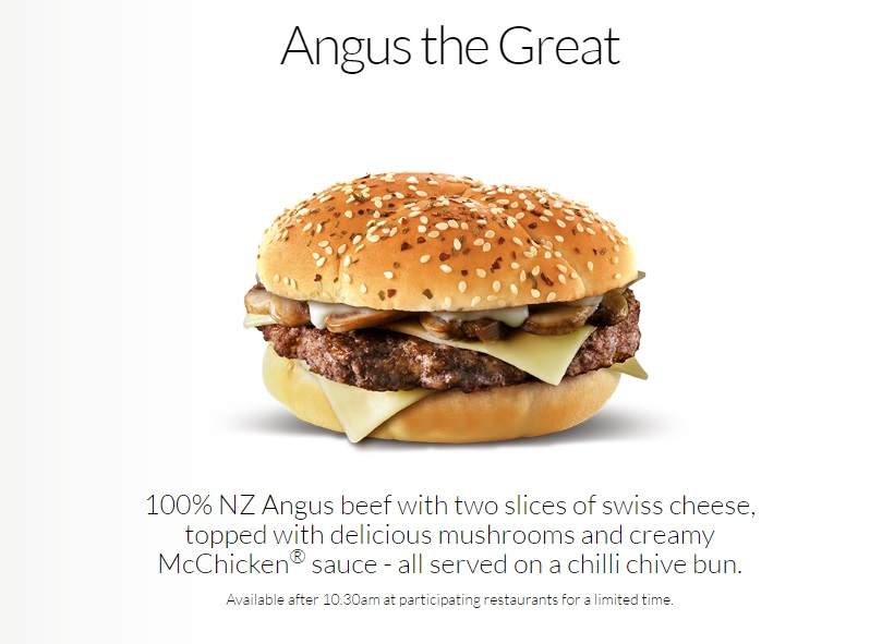 McDonald's Angus the Great