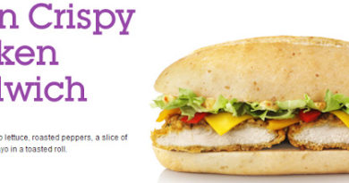 McDonald's Cajun Crispy Chicken Sandwich