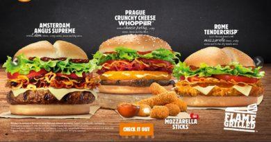 Burger King Eurotrip 2016