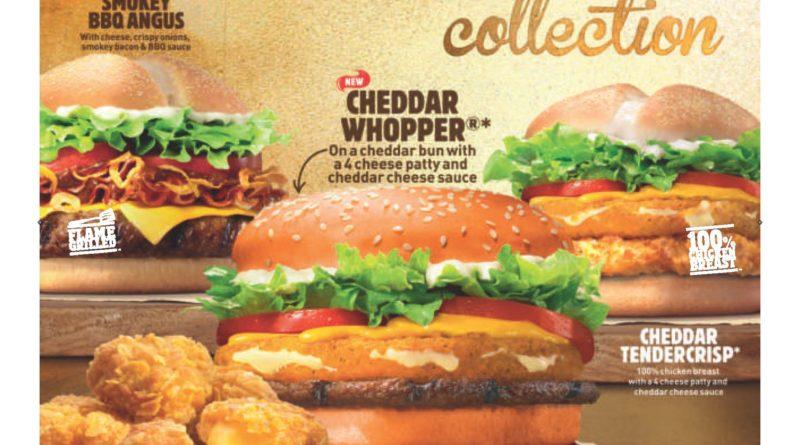 Burger King Cheddar Whopper