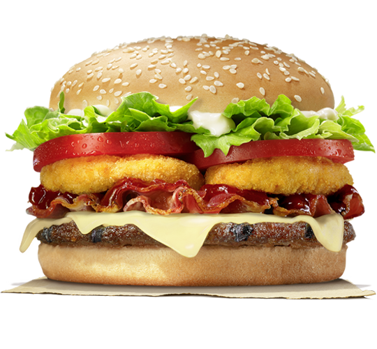 Burger King Texas Cheddar Whopper