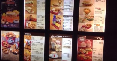 KFC Prices UK