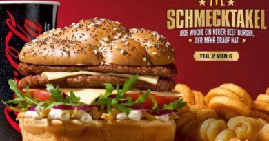 McDonald's Caesar's Beef
