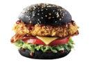 KFC Zinger Black Burger