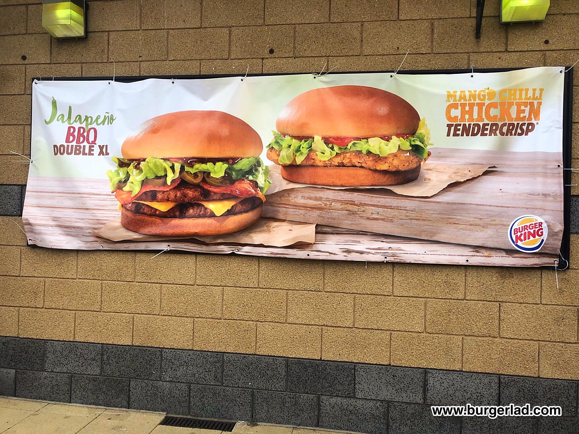 Burger King Mango Chilli Chicken Tendercrisp