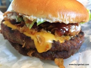 Burger King Smokey BBQ Angus