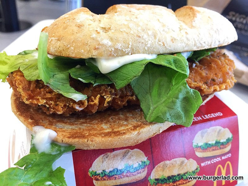 McDonald's Chicken Legend with Cool Mayo