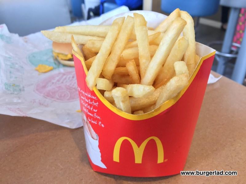 McDonald's Saver Menu UK