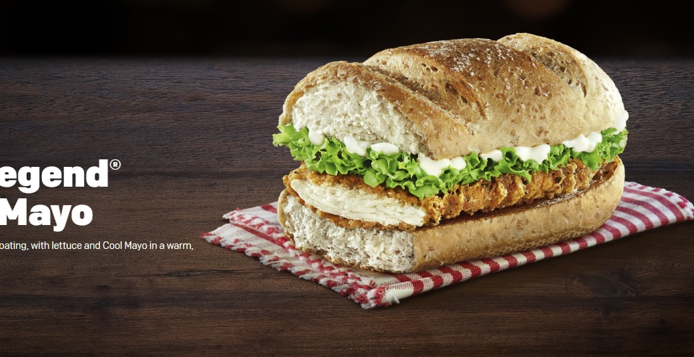 Chicken Legend with Cool Mayo