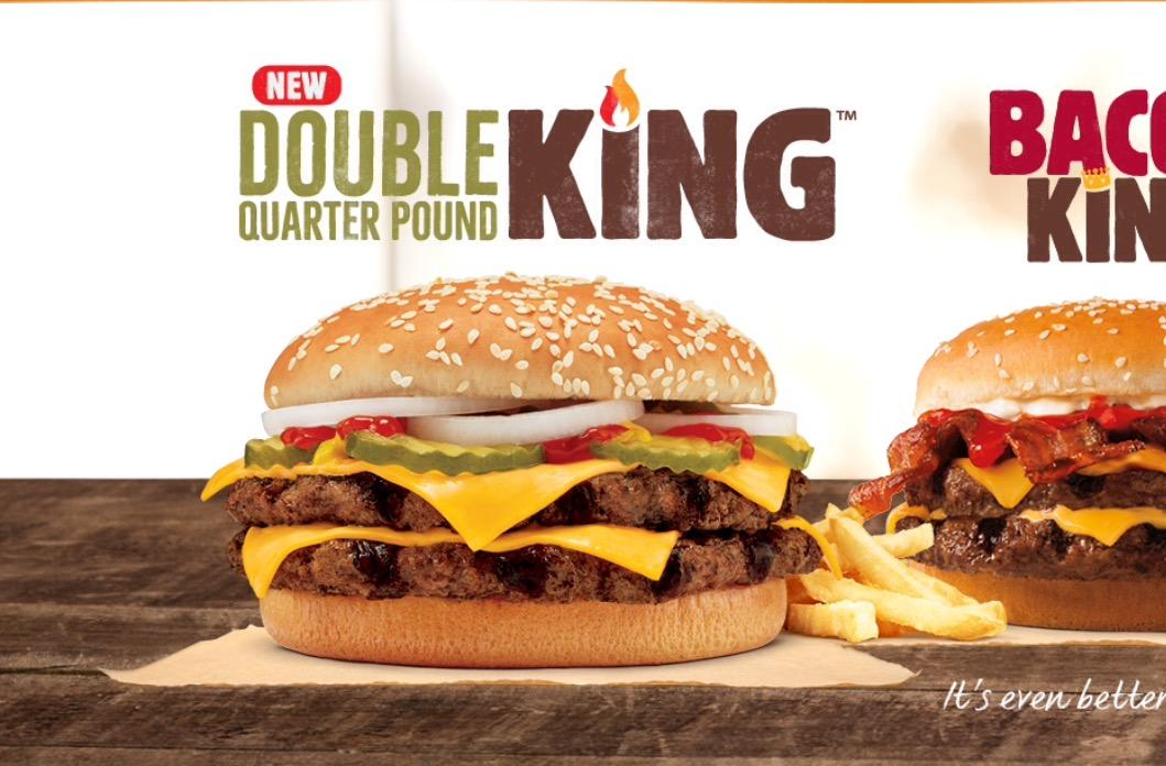 Double Quarter Pound King