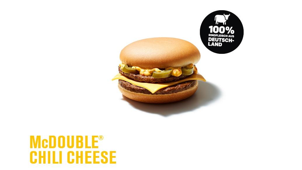 McD McDouble Chili Cheese