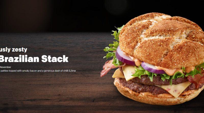 McDonald's The Brazilian Stack
