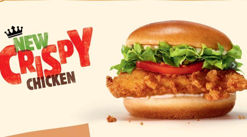 Burger King Crispy Chicken UK