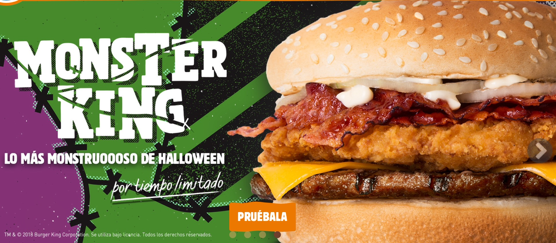 Burger King Monster King
