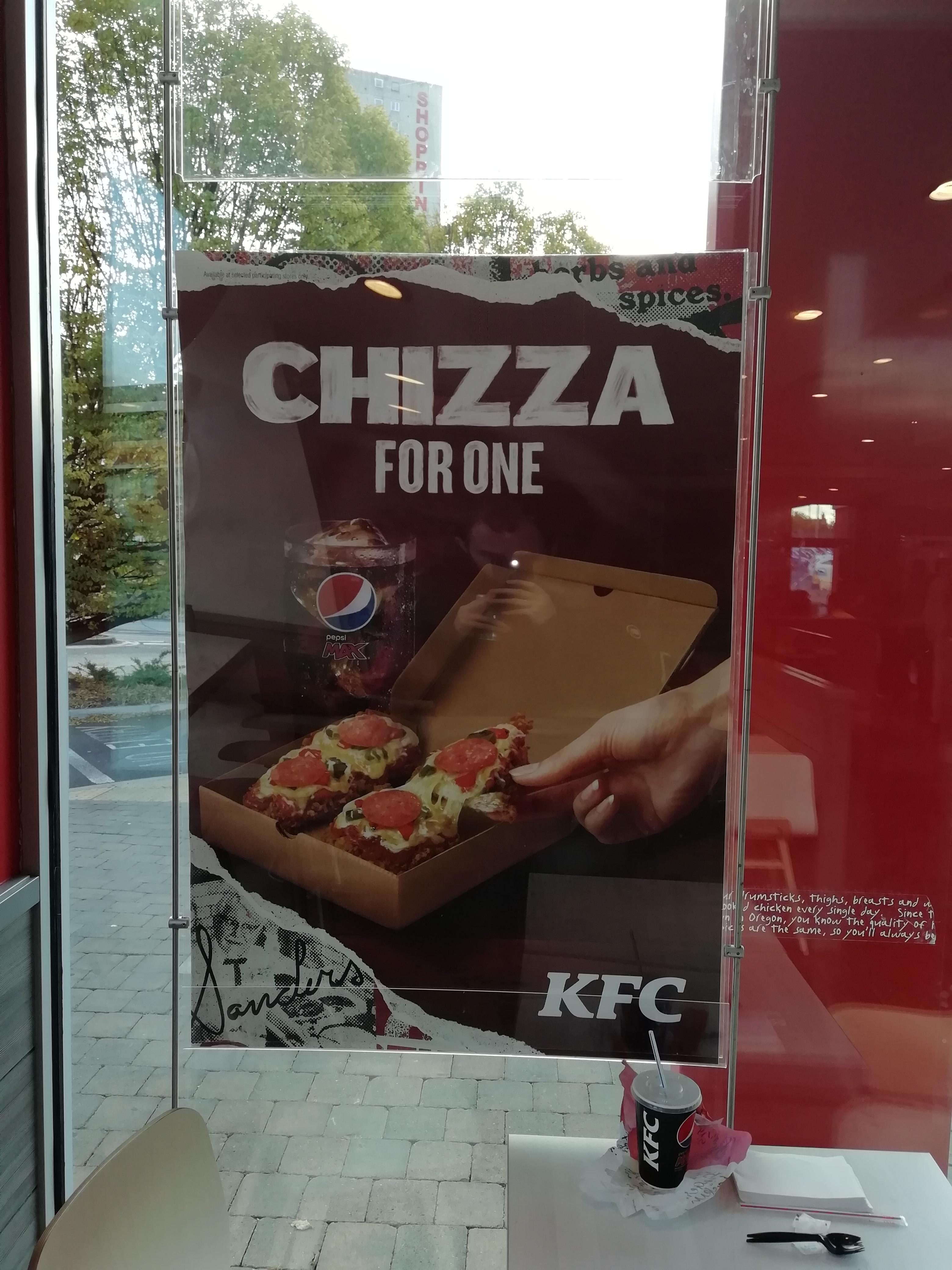KFC Chizza UK