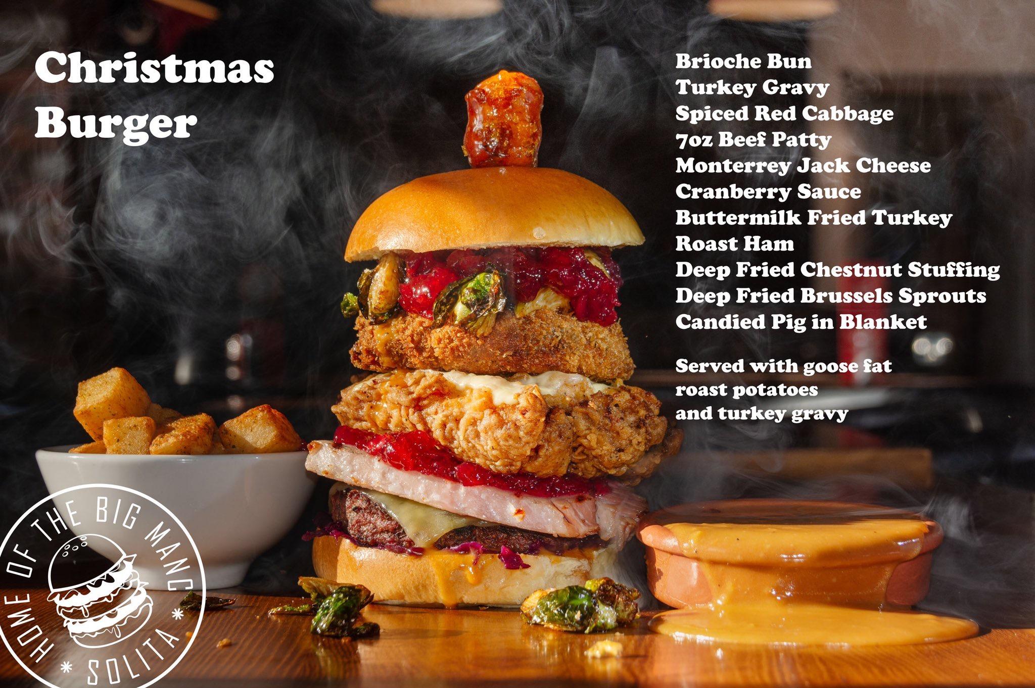 Solita Christmas Burger 2018
