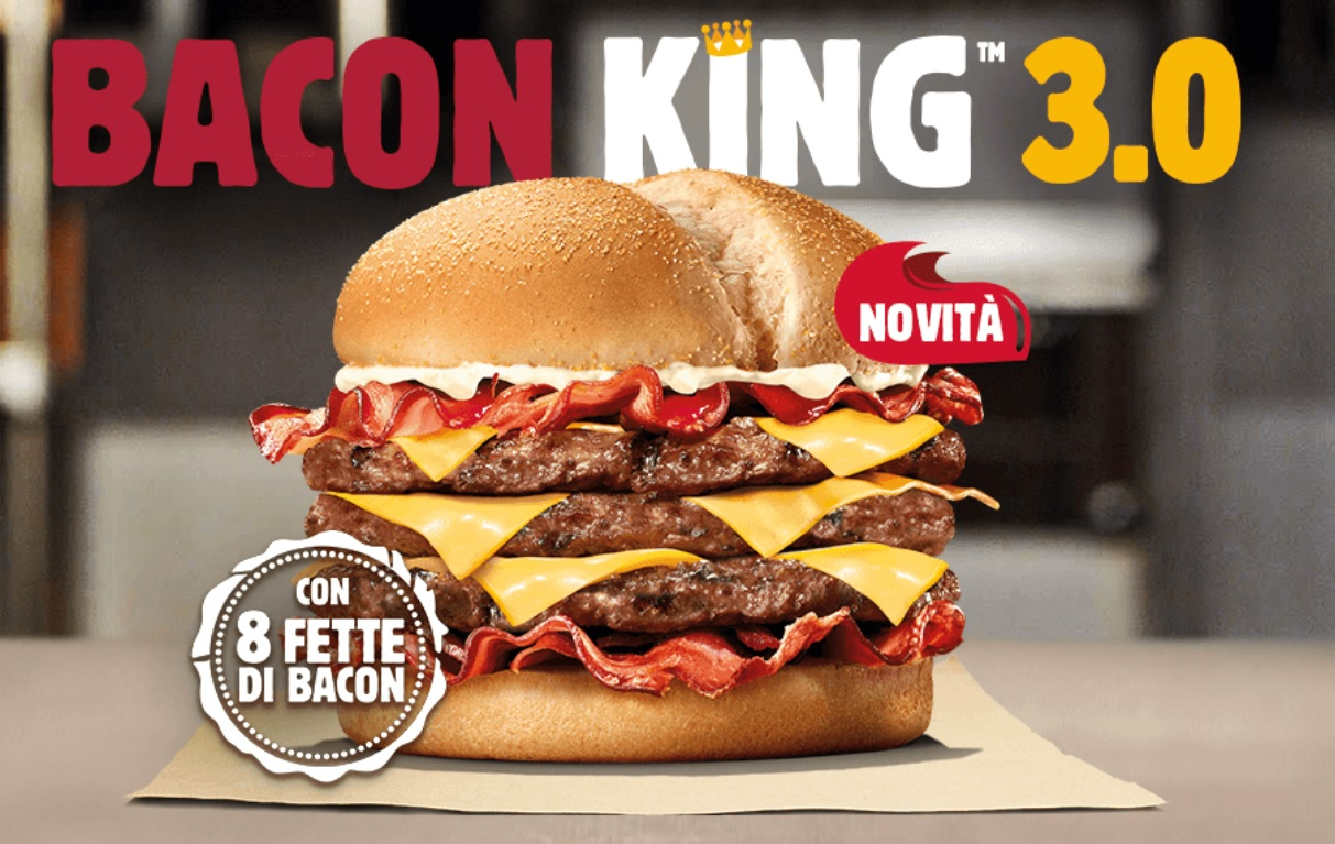 Burger King Italy Bacon King 3.0