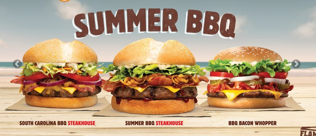 Burger King New Zealand Summer BBQ
