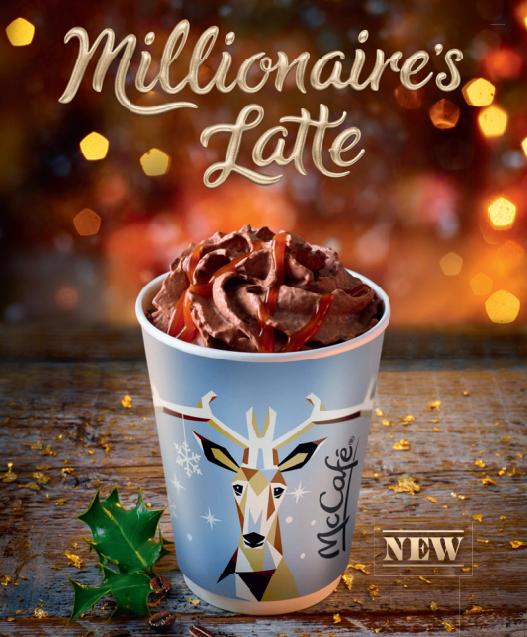 McDonald's Millionaire's Latte