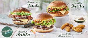 McDonald's Maestro Burgers - Croatia - Guaco Pablo & Guaco Frida