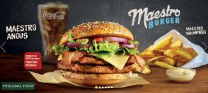 McDonald's Maestro Burgers - Croatia - Angus