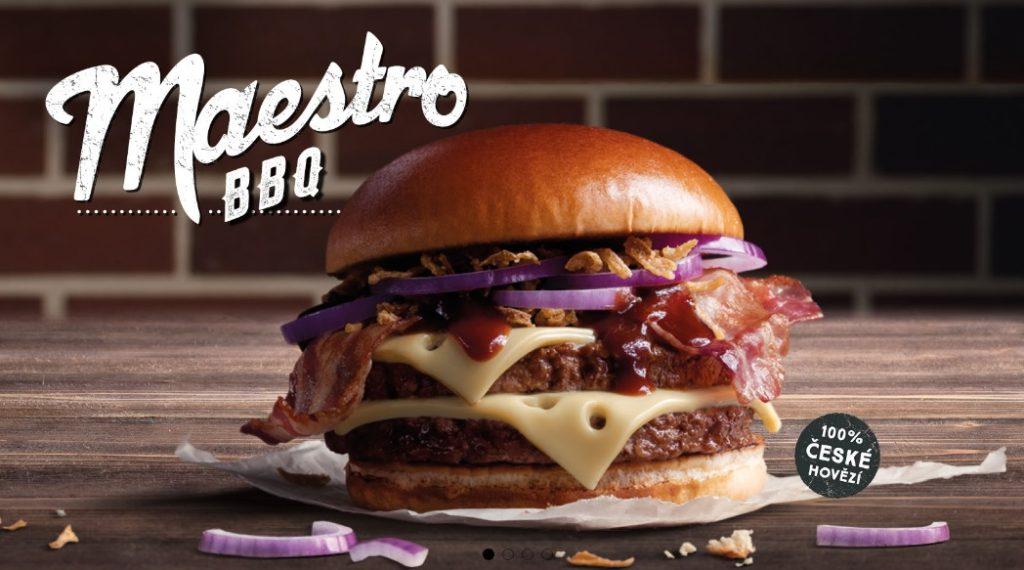 McDonald's Maestro Burgers - Czech Republic - BBQ