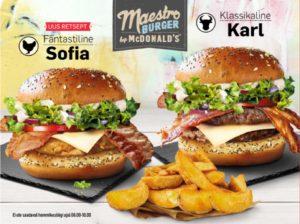 McDonald's Maestro Burgers - Estonia - Karl & Sofia
